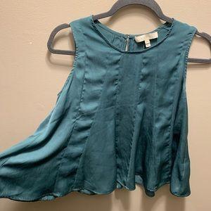 Eri & Ali Anthropologie sleeveless blouse flowy